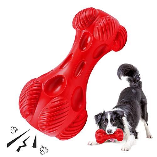 G.C Kauspielzeug Hund, Hundespielzeug unzerstörbar quitschend...
