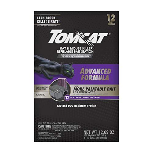 Tomcat Rat & Mouse Killer Refillable Bait Station Mausefalle