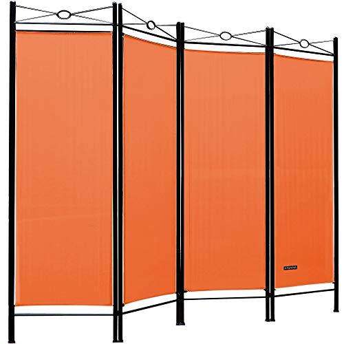Deuba Paravent Lucca 180x163 cm Raumteiler Verstellbar 4 TLG Trennwand Spanische Wand...