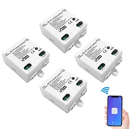 Smart WLAN Schalter Wireless Relais Modul WiFi Switch und...