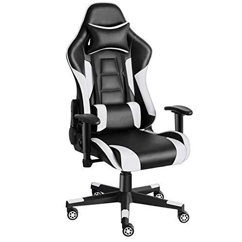 Twomaples Gaming Stuhl, Racing Computerstuhl Ergonomischer...