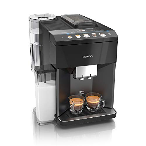 Siemens EQ.500 integral Kaffeevollautomat TQ505D09, einfache...