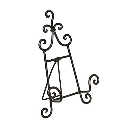 DESIGN DELIGHTS DEKO Halter STAFFELEI | Metall, 24 cm, schwarz |...