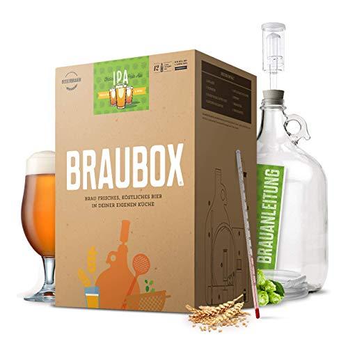 Braubox®, Sorte IPA | Bierbrauset zum Bier brauen in der Küche...