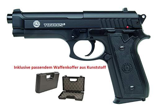 KOSxBO Set: Taurus PT92 mit BAX System Softair Pistole mit Metal Slide - Stärke 0,5 Joule...