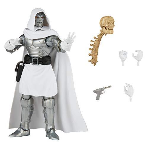Hasbro Marvel Legends Series 15 cm große Dr. Doom Action-Figur und 4 Accessoires