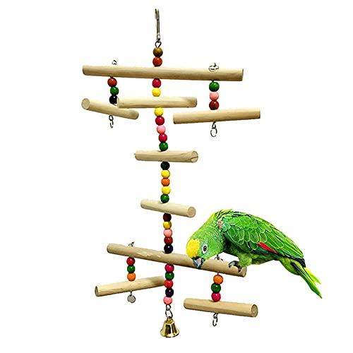LEPSJGC Bird Toy Birdcage Zubehör Pet Parrot Toys Hängende...