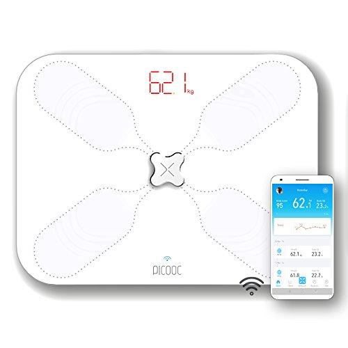 PICOOC S3 Lite Körperfettwaage WLAN, App, künstliche...