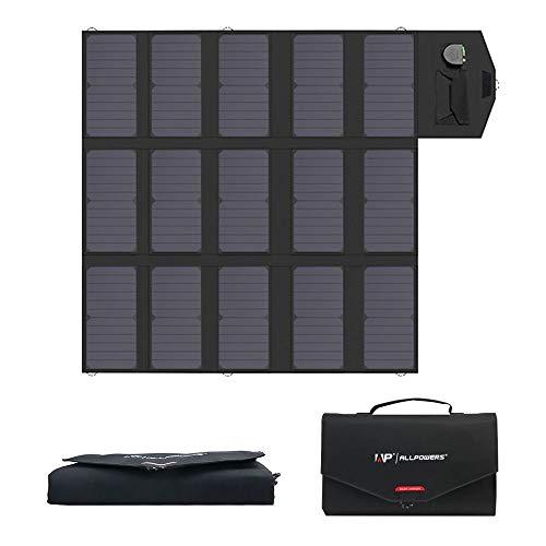 ALLPOWERS 100W Faltbares Solarpanel Solar ladegerät Solarmodul...