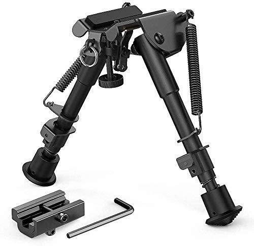 Lejie 6-9 Zoll Taktisch Gewehr Zweibein, Teleskop Pendelkopf...