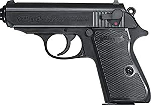 walther PPK/S Airsoft Pistole, Schwarz, One Size