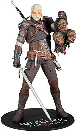 McFarlane - Witcher - Geralt von Rivia 12 Deluxe-Figur.