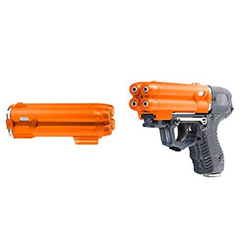 PIEXON Pfefferspraypistole JPX6 mit 4 Schuss Speedloader +...