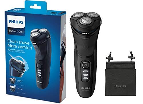 Philips S3233/52 Elektrischer Trockenrasierer Series 3000 mit...