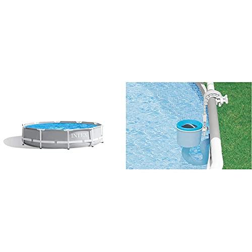 Intex Prism Rondo Ø 305 x 76 cm Frame Pool Set, Hellgrau &...