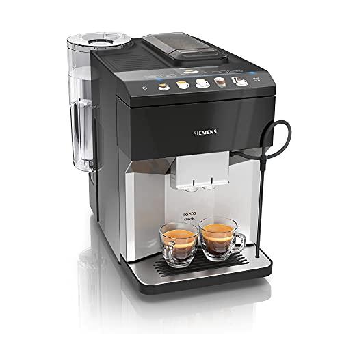 Siemens Kaffeevollautomat EQ.500 TP505D01, Cappucinatore,...