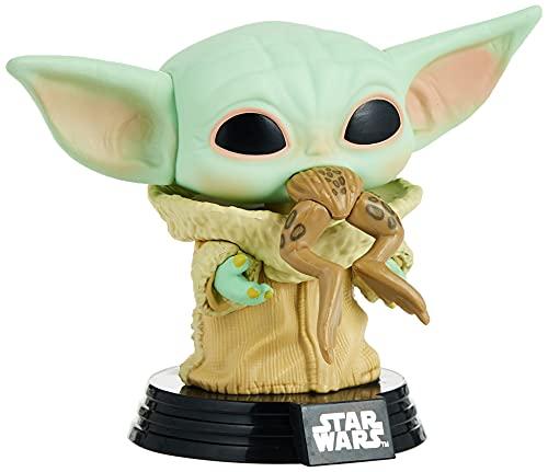 Funko 49932 POP Star Wars:The Mandalorian-The Child w/Frog...