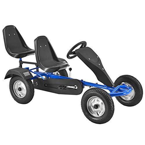 ArtSport 2-Sitzer Gokart mit Schalensitz, Luftreifen,...