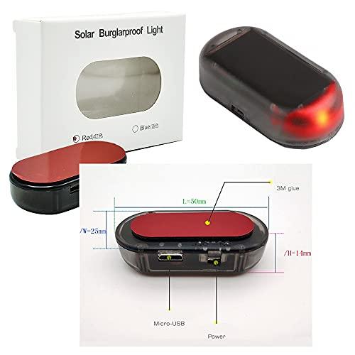 JP USB & SOLAR Alarmanlage Dummy für Auto, Schuppen, Fenster,...