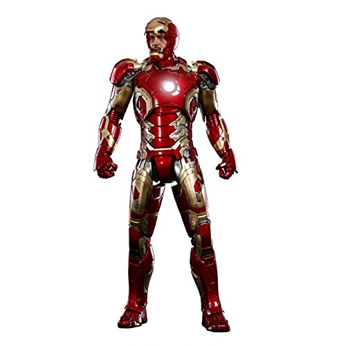Hot Toys Marvel Iron Man Mark XLII Die-cast Masterpiece Sixth...