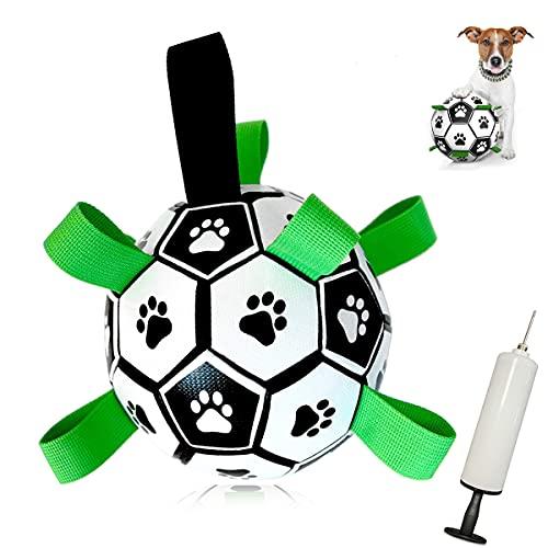 MOMSIV Hundespielzeug Ball ,Hundeball Kauspielzeug Robuster...