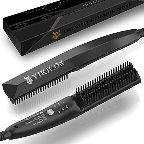 VIKICON Bartglätter für Männer, Mini Elektrische Bart...