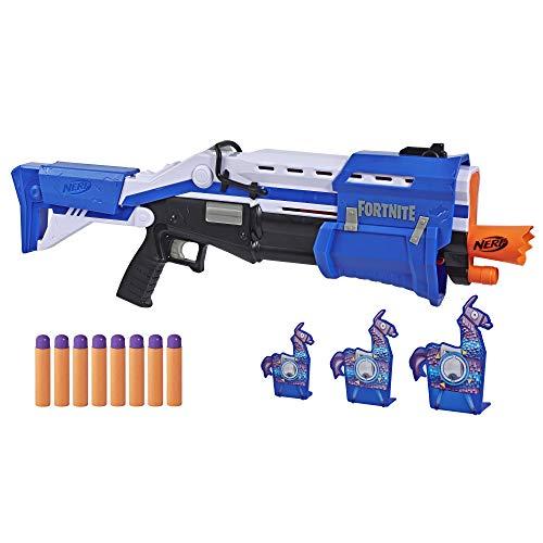 Nerf TS-R Blaster und Llama Ziele – Pump-Action Blaster, 3...