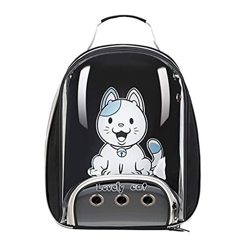 AniYY Katzen-Rucksack, transparent, für kleine Hunde, tragbar,...