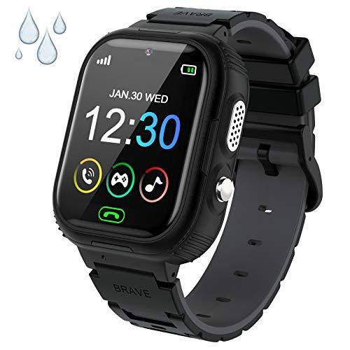 Kinder Smartwatch, Uhr Telefon für Mädchen und Jungen...