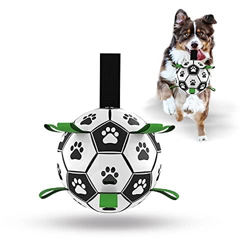 Hundespielzeug-Ball, interaktiver Fußball für Hunde mit...