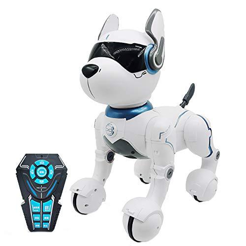 JIAOAOO Roboter mit Fernbedienung, Hundespielzeug, intelligenter...