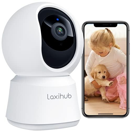 Laxihub Überwachungskamera Innen WLAN Kamera 1080P HD Nachtsicht...