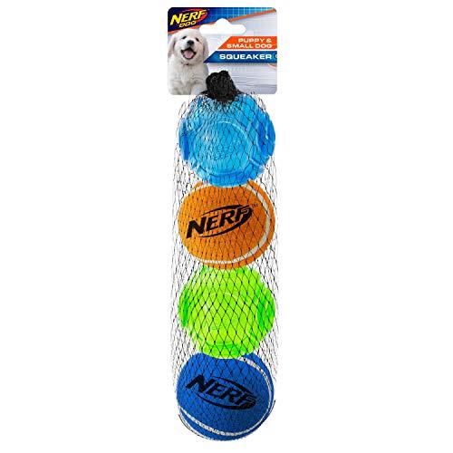 Nerf Dog Nerf Dog TPR 5 Zoll Sonic/Tennisbälle 4 Stück für...