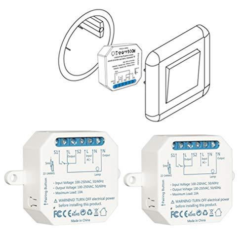 LoraTap 2er Pack Wifi Schalter Relais Modul 4.0 (vorhandener...