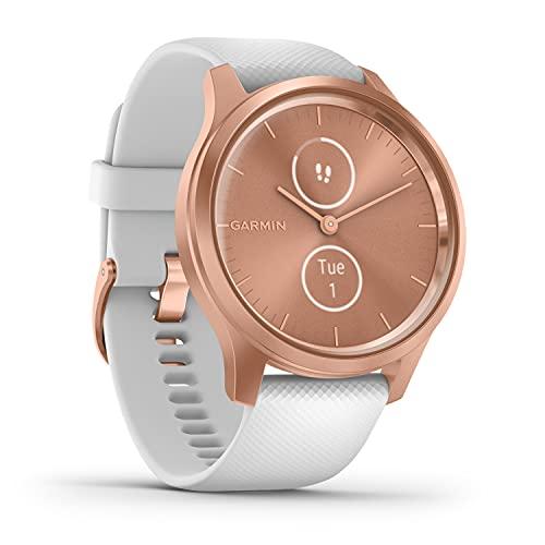 Garmin vívomove Style – stilvolle Hybrid-Smartwatch mit 2...