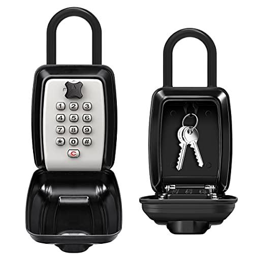 ENONEO Schlüsseltresor mit Bügel Ultra-Robustes Schluesselsafe...