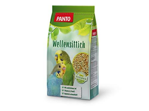 Panto Ziervogelfutter, Wellensittichfutter 1 kg, 5er Pack (5 x 1...