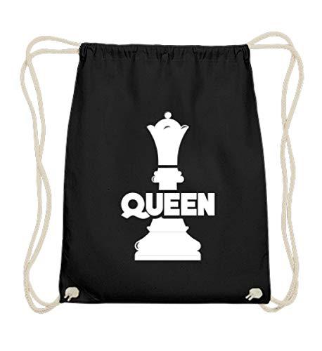 Chorchester Queen Dame für Frauen Schach Fans - Baumwoll Gymsac