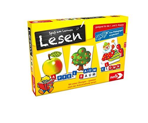 Noris 606076340 Spaß am Lesen, Kinder Lernspiel zum Lesenlernen,...