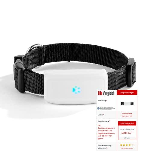 Simmotrade® SMT_911_OS, GPS Tracker für Hunde ohne ABO, sie...