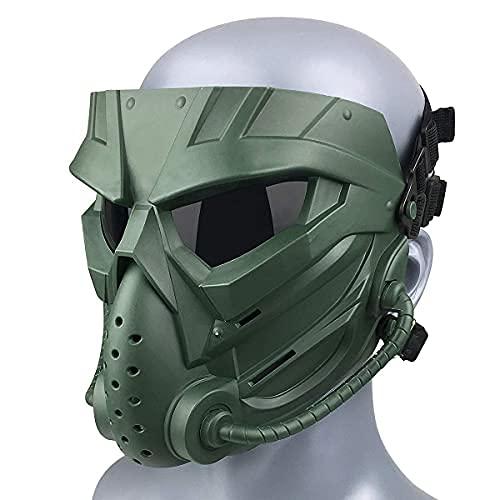 Wwman Paintball/Airsoft Maske, Verschleißfeste Taktisch...