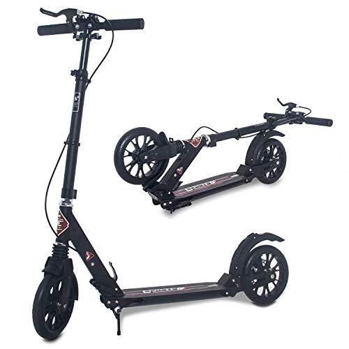 ISE Big Wheel Scooter Tretroller 200mm Roller Cityroller...