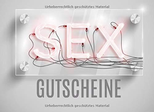 Sex Gutscheine: Erotisches Gutscheinheft mit 10...