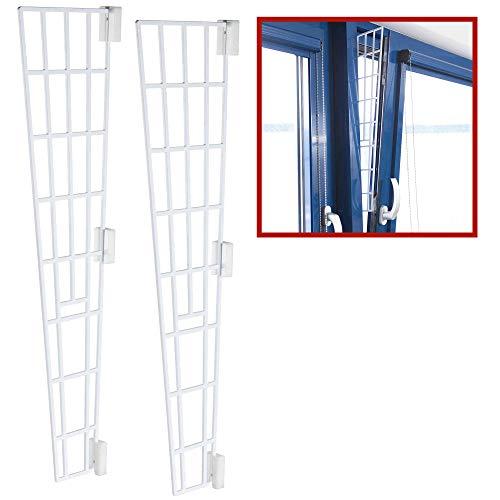 TRIXIE 2X Kippfenster-Schutzgitter, Kunststoff, Seitenteil,...