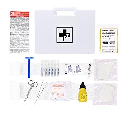 Erste-Hilfe-Set für Haustiere (enthält ANTISEPTISCHE LÖSUNG,...