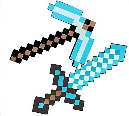BDBT Schaumstoff-Schwert für Kinder, Minecraft-Schild,...