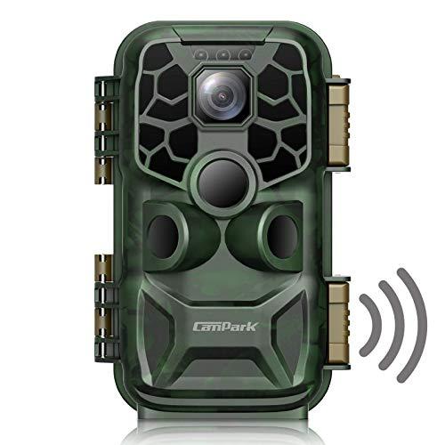 Campark Wildkamera WLAN 24MP 4K Lite Bluetooth Jagdkamera mit...