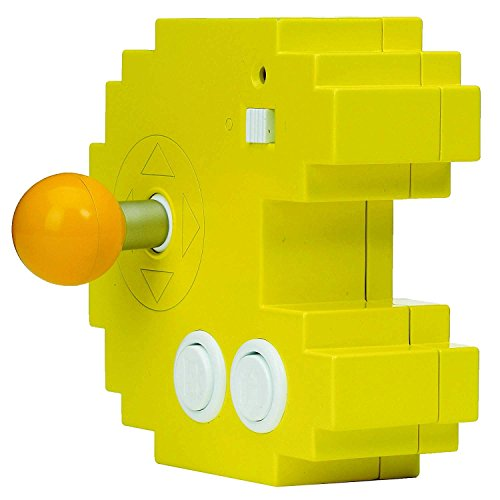 Bandai– Pac-Man– Gelbe Spielkonsole Connect & Play (12...