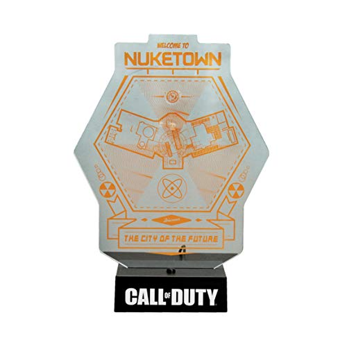 Paladone Z890590 Call of Duty Lampe Nuketown Map, Weiß