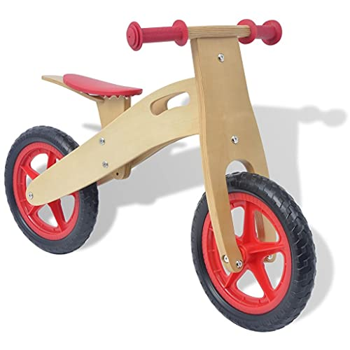 LINWXONGQP Material: Holzgestell + Kunststoffrad + Eva-Reifen...